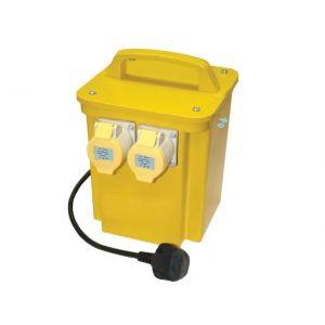 3kVA Portable Transformer 110V Twin Outlets