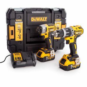 Dewalt DCK266P2T Combi Drill & Impact Driver Twin Pack 18V XR