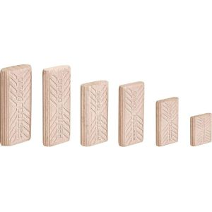 Festool 493298 8 x 40mm Wooden Beech Dowels DOMINO 8x40/780 BU