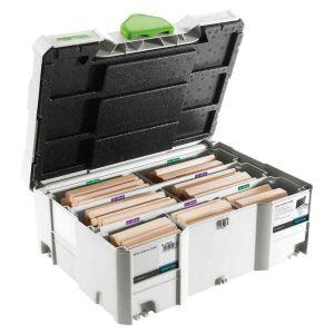 Festool 498205 Wooden Beech Dowel DOMINO XL Systainer DS/XL D12/D14 128x