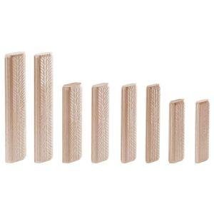 Festool 498216 12 x 100mm Wooden Beech Dowels DOMINO 12x100/100 BU