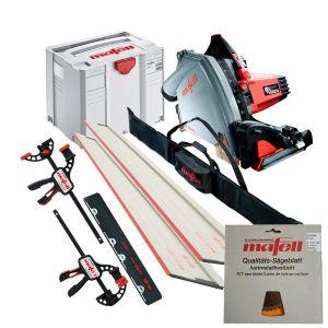 Mafell MT55CC Plunge Saw System 160mm 3.2m Rail Kit, Canvas Case & 2 Blades