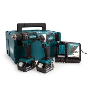 Makita DLX2131TJ LXT Combi Drill & Impact Driver Twin Pack
