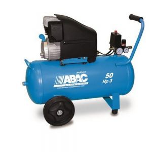ABAC MONTECARLO L30P Mobile Air Compressor 50L 145Psi 10Bar