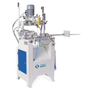 Ozgenc Makina OMRM 117 Copy Router with Triple Drilling for Aluminium and PVC Profiles