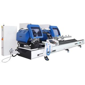 Ozgenc Makina OMRM 133 PRO Automatic Double Head Aluminium Cutting Machine