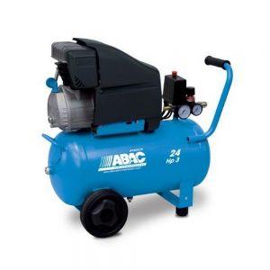 ABAC POLE POSITION L30P Mobile Air Compressor 24L 145Psi 10Bar