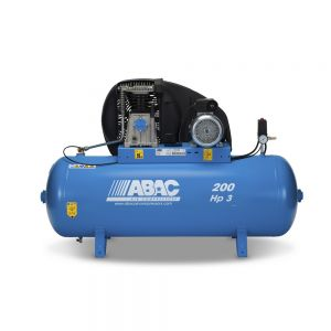 ABAC PRO A39B 200 FT3 Stationary Air Compressor 200L 145Psi 10Bar