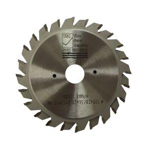 Sawco Industrial TCT Scoring Saw Blade 120 x 20 x 24T Adjustable Kerf