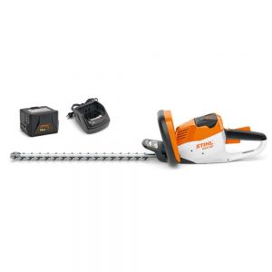 Stihl HSA 56 Cordless Hedge Trimmer Set 18 inch Blade with AK 10 Battery and AL 101 Charger