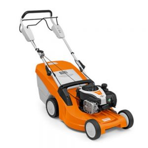 Stihl RM 448 T Petrol Lawn Mower with 1-Speed Drive for Gardens up to 1200 m²