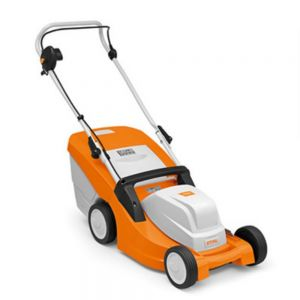 Stihl RME 443 Electric Lawn Mower with Cutting Height Adjustment for Small Gardens up to 600 m²