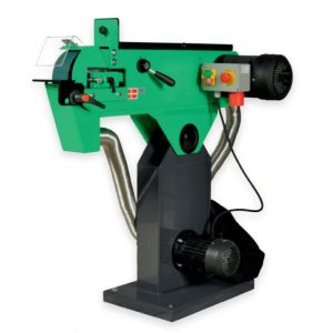 TAS75X 75 x 2000mm Belt Linisher Grinder 4.1HP Motor with Dust Extraction
