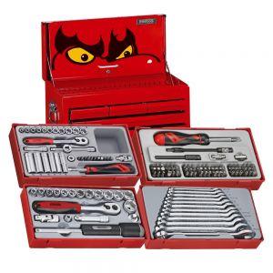 Teng Tools TC0140SV 140 Piece Starter Kit Tool Set