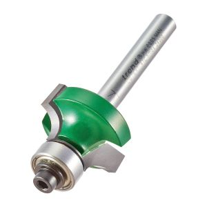 Trend C076X1/4TC 6.3mm Radius TCT Bearing Guided Ovolo Rounding Over Cutter