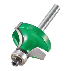 Trend C078AX14TC 11.1mm Radius TCT Bearing Guided Ovolo Rounding Over Cutter