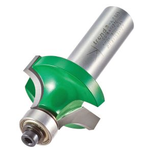 Trend C078X1/2TC 9.5mm Radius TCT Bearing Guided Ovolo Rounding Over Cutter