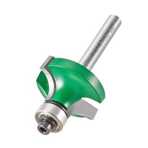 Trend C078X14TC 9.5mm Radius TCT Bearing Guided Ovolo Rounding Over Cutter