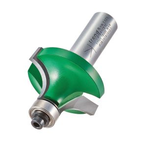 Trend C079X1/2TC 12.7mm Radius TCT Bearing Guided Ovolo Rounding Over Cutter
