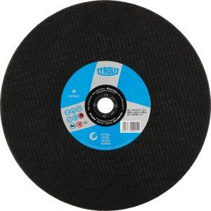 Tyrolit 223033 350mm x 2.8mm 2 in 1 Flat Metal Cutting Chop Saw Discs