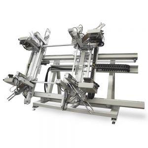 URBAN AKS 1860 Vertical 4-Head Welding Machine 400V 3 Phase