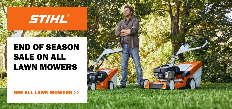 Stihl Lawn Mower End of Season Sale