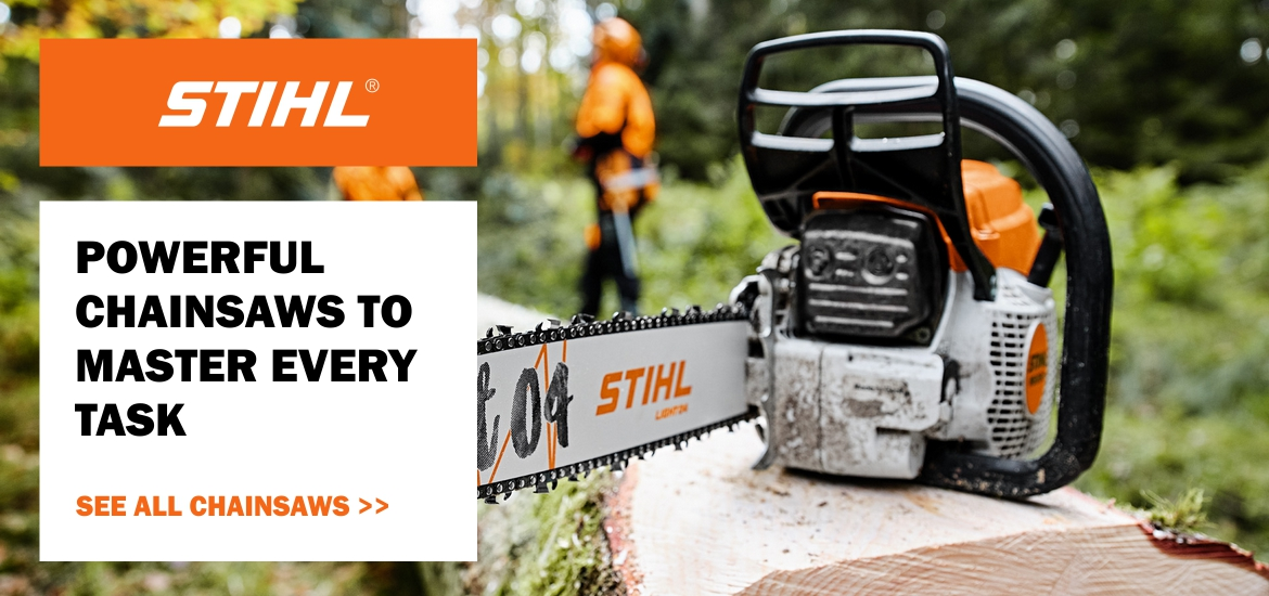 Stihl Chainsaws for every task